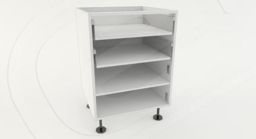 Base 1 Door 2 Drawer Standard