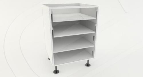 Base 2 Door 2 Drawer Standard