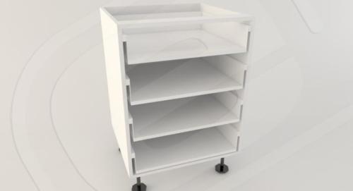 Base 4 Drawer Standard