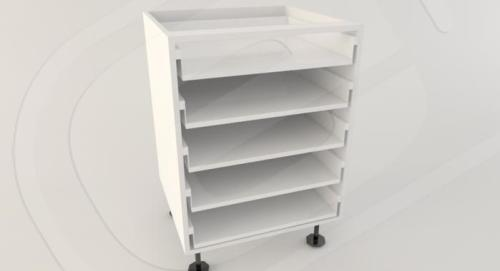 Base 5 Drawer Standard