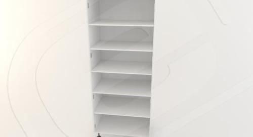 Pantry 2 Door Std Height